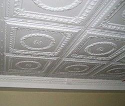 Потолочная плитка г.Вологда, плитка на потолок